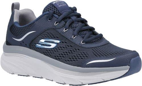Skechers D'Lux Walker Mens Sports Navy / Grey